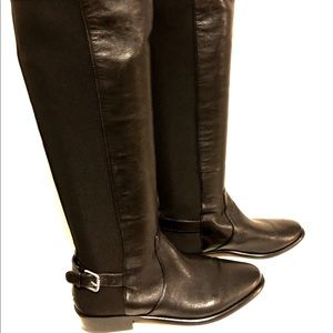 Coach Liza Brown Knee High Riding Boots